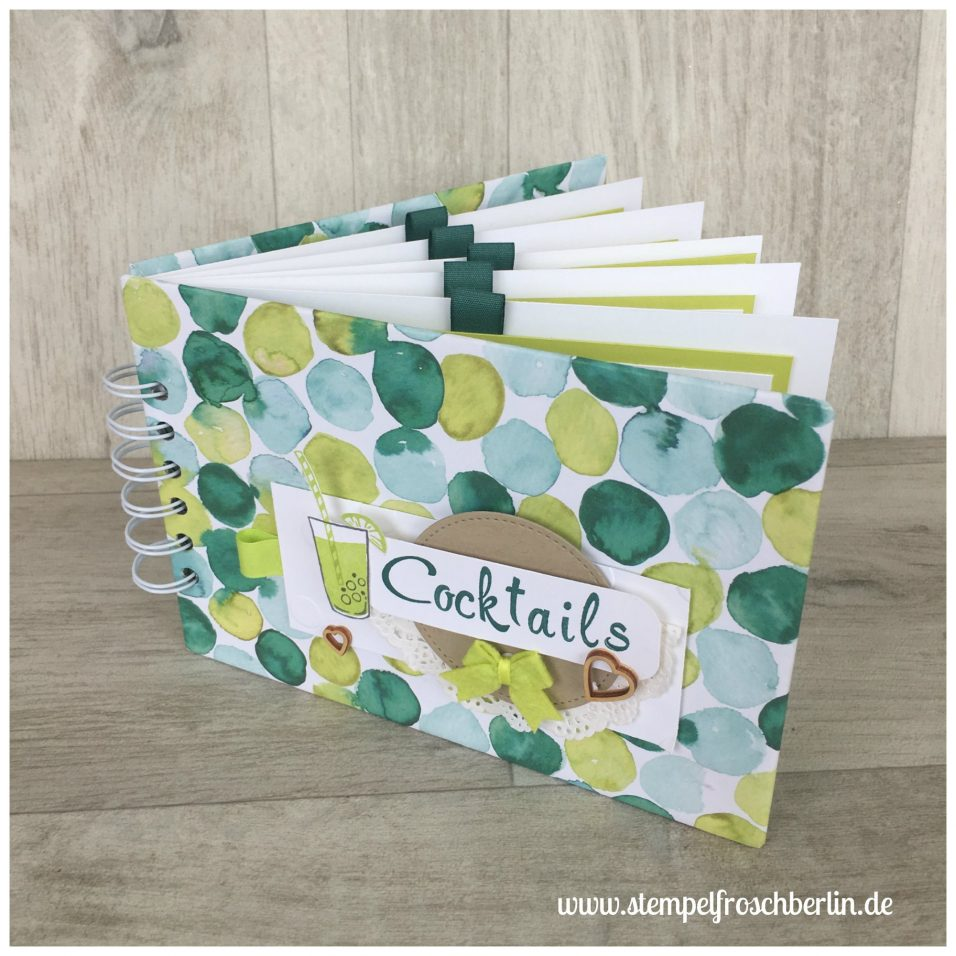 Blog Hop Sommerparty Cocktailbuch, Stampin`Up!