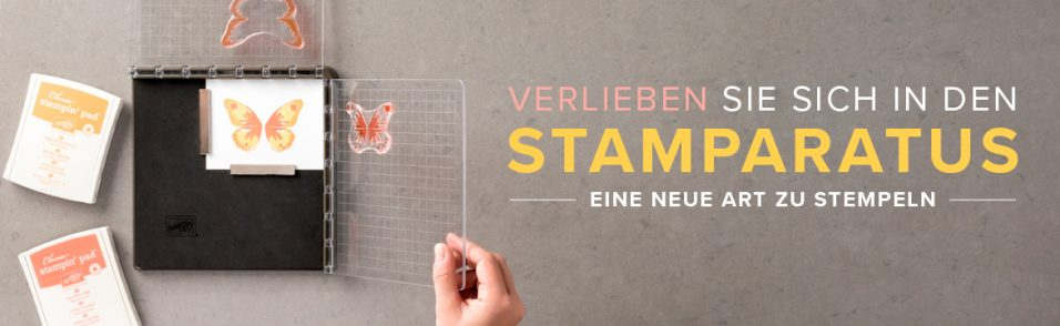 Stampin`Up! Stamparatus Positionierhilfe