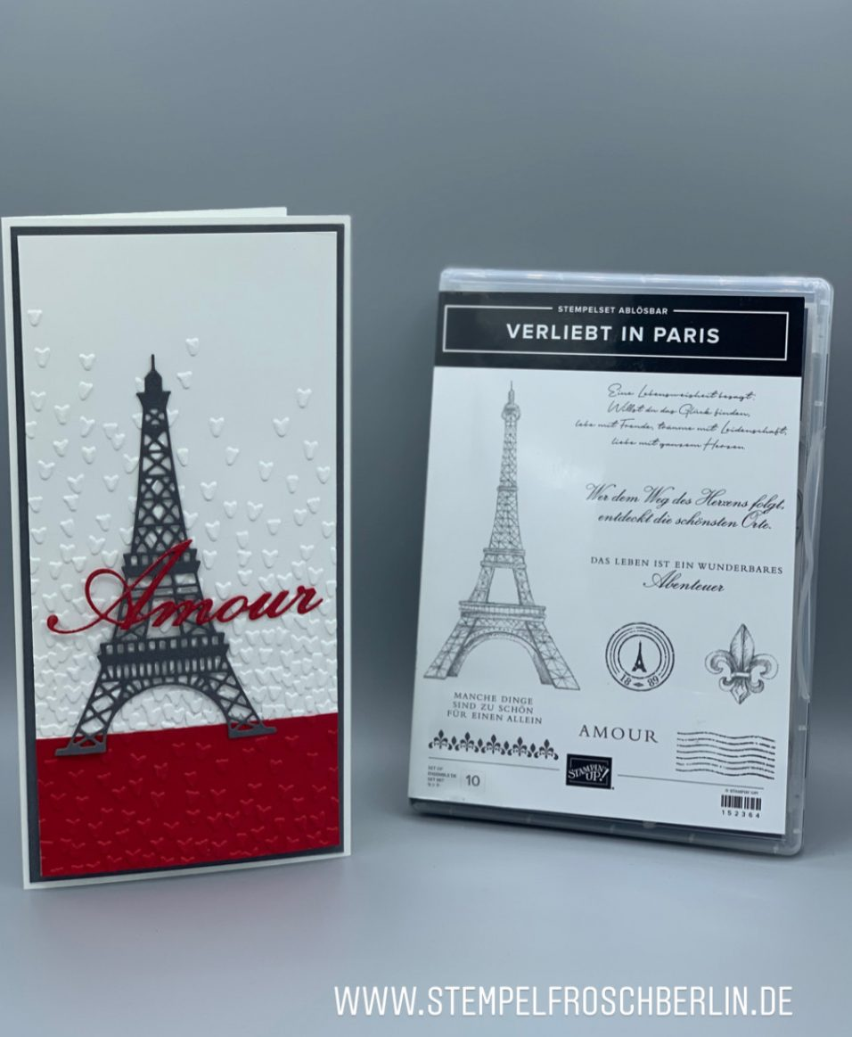 Stampin up Verliebt in paris